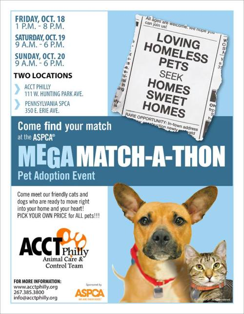 ACCT Philly Perfect Match Event!
